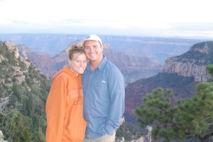 Kim and Kyle North Rim Grand Canyon