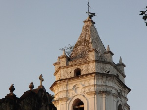 An old church in Casco Viejo.