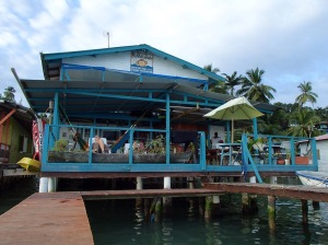 Our hostel in Bocas del Toro, Bubba's house.
