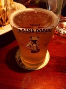 Best beer in Panama City, good nachos as well!