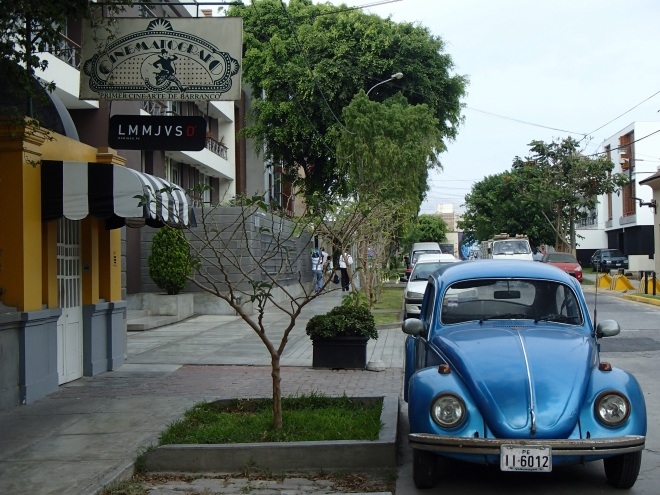 Punch buggy blue, no punch backs!