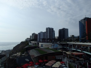 This mall has great views and you can watch people paragliding over the cliffs.