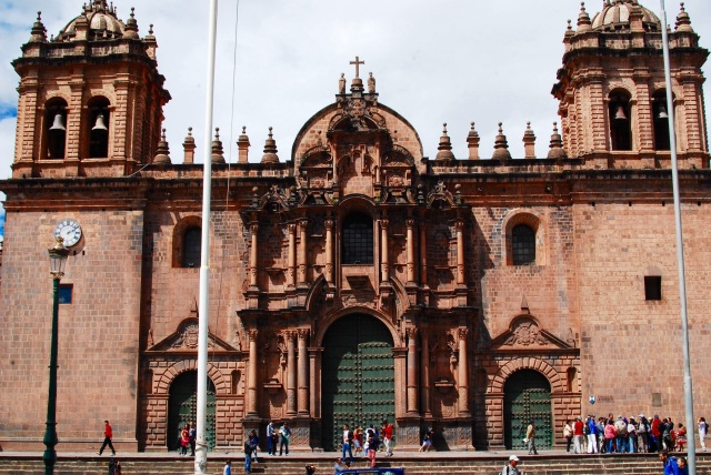 One of three Churches on the Plaza de Armans