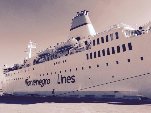 Montenegro Lines ferry