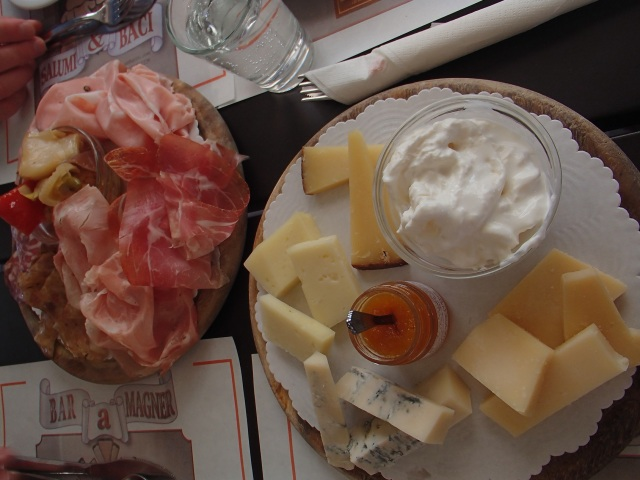 Recipe for a perfect afternoon; amazing meats paired with amazing cheese