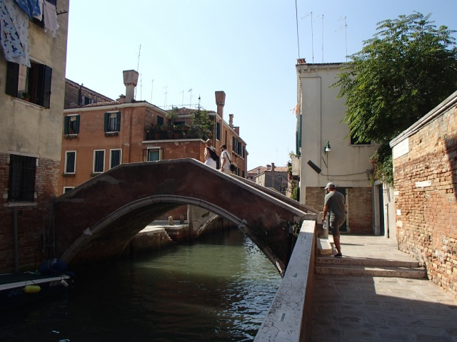 "Getting lost in Venice is both easy and fun, our walks consisted more of ""go in that general direction if you can"""