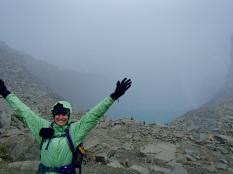 Kim at Torres Del Paine