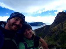 Our first Glacier selfie