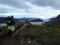 Saying good-bye and thank you to the Glacier