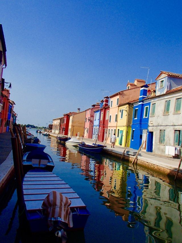 The beautiful painted houses of Burano Island are definite must see