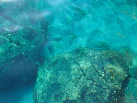 #nofilter - the water is that clear and that blue
