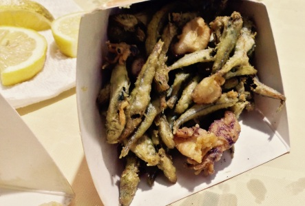 Fried Minnows for dinner