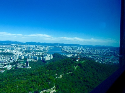 Seoul as far as the eye can see